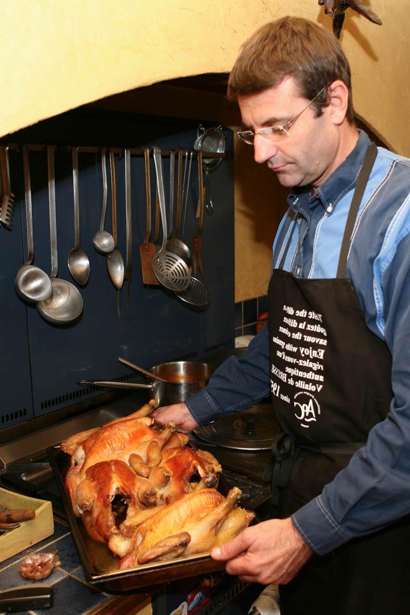 Recettes et cuisson de la volaille de Bresse